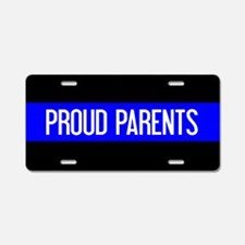 Police: Proud Parents (The Aluminum License Plate