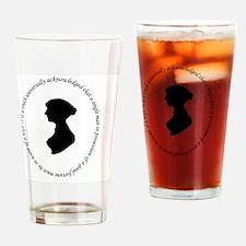Funny Sense sensibility Drinking Glass