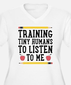 Training Tiny Humans Plus Size T-Shirt