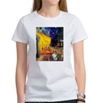 Cafe / Sheltie Women's T-Shirt