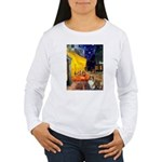 Cafe / Sheltie Women's Long Sleeve T-Shirt