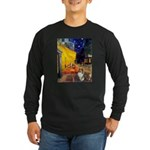 Cafe / Sheltie Long Sleeve Dark T-Shirt