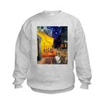 Cafe / Sheltie Kids Sweatshirt