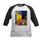 Cafe / Sheltie Kids Baseball Jersey