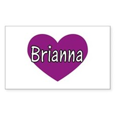 Brianna Rectangle Decal
