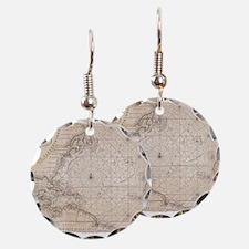 Unique Nautical Earring Circle Charm