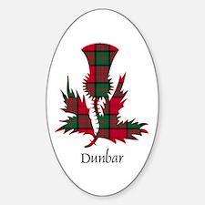 Thistle - Dunbar Decal