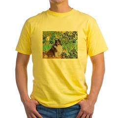 Irises / Sheltie Yellow T-Shirt