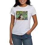 Irises / Sheltie Women's T-Shirt