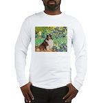 Irises / Sheltie Long Sleeve T-Shirt