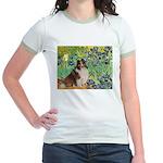 Irises / Sheltie Jr. Ringer T-Shirt