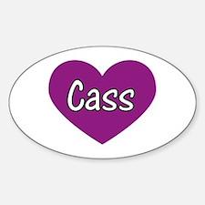 Cass Oval Decal