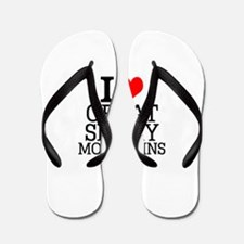 I Love Great Smoky Mountains Flip Flops