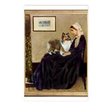 Whistler's / Sheltie Postcards (Package of 8)