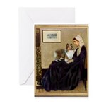 Whistler's / Sheltie Greeting Cards (Pk of 20)
