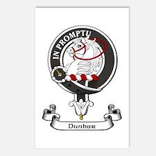 Badge - Dunbar Postcards (Package of 8)
