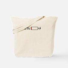 Low Batteries Tote Bag