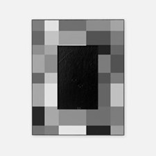 Grayscale Check Picture Frame