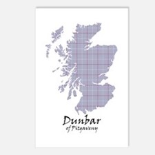 Map - Dunbar of Pitgaveny Postcards (Package of 8)
