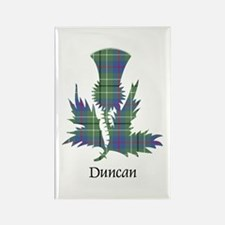 Thistle - Duncan Rectangle Magnet