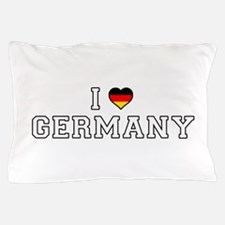 I Love Germany Pillow Case