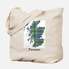Map - Duncan Tote Bag