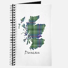 Map - Duncan Journal