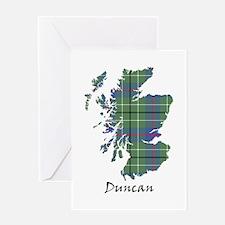 Map - Duncan Greeting Card