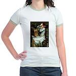 Ophelia / Silky T Jr. Ringer T-Shirt