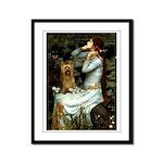Ophelia / Silky T Framed Panel Print