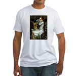 Ophelia / Silky T Fitted T-Shirt