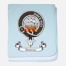 Badge - Duncan baby blanket