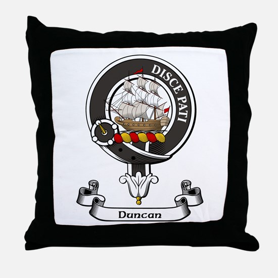 Badge - Duncan Throw Pillow