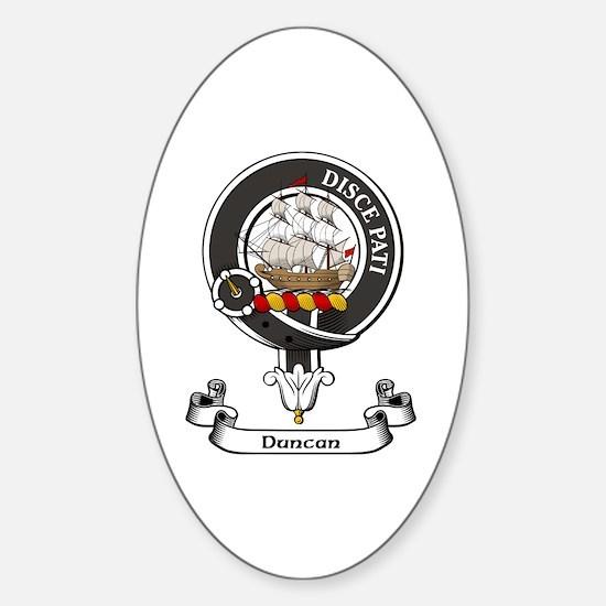 Badge - Duncan Sticker (Oval)