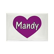 Mandy Rectangle Magnet