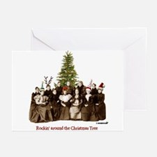 Rockin' Christmas Greeting Cards