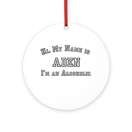 Aden Ornament (Round)