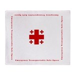 Emergency Transportable Safe Space Throw Blanket