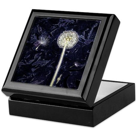 Dandelion Puff Keepsake Box
