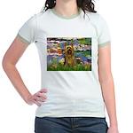Lilies / Silky T Jr. Ringer T-Shirt