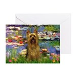 Lilies / Silky T Greeting Card