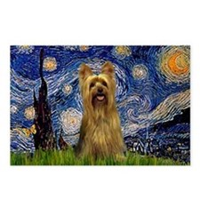 Starry Night / Silky T Postcards (Package of 8)