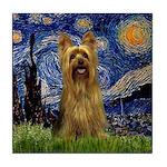 Starry Night / Silky T Tile Coaster