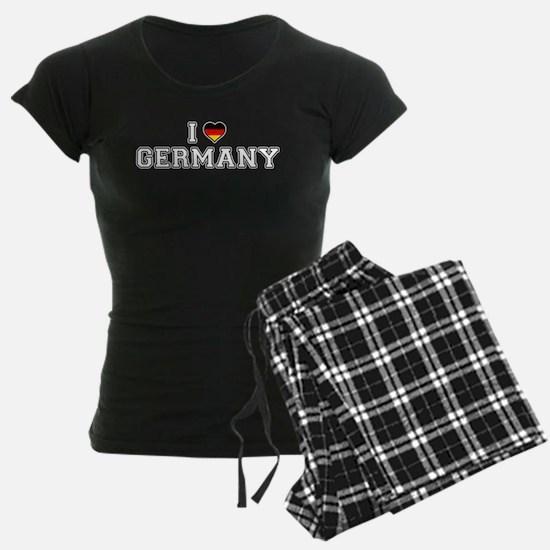 I Love Germany pajamas
