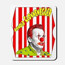 Arnold Clownenegger Mousepad