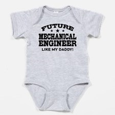 Funny Mechanical engineer Baby Bodysuit