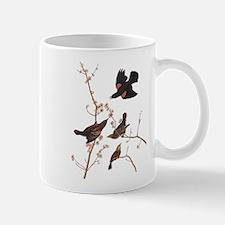 Red-Winged Starling Vintage Audubon Mugs