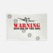 A-10 Warthog witty slogan Rectangle Magnet