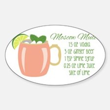 Moscow Mule Recipe Decal