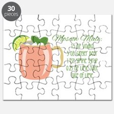 Moscow Mule Recipe Puzzle